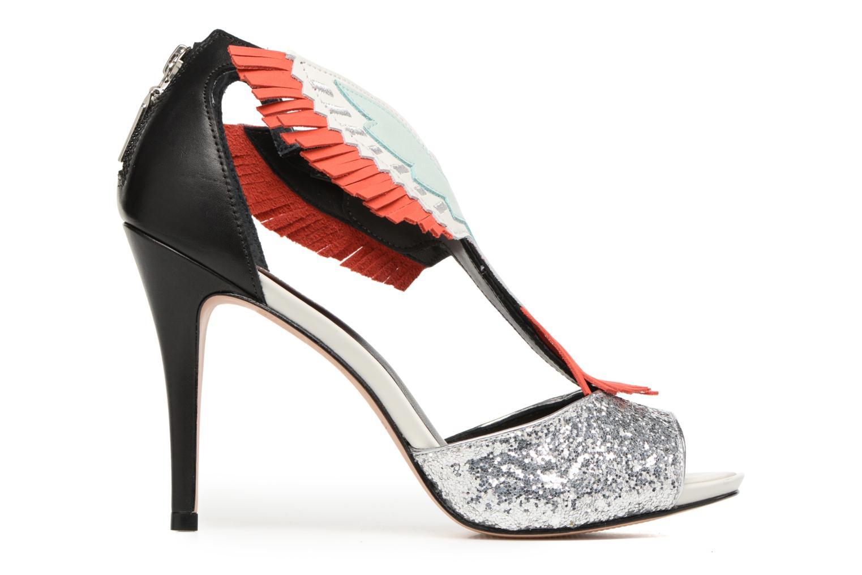Sandalen COSMOPARIS Jelana/Glit schwarz ansicht von hinten
