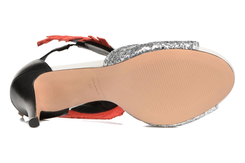 Sandalen COSMOPARIS Jelana/Glit Zwart boven