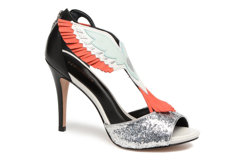 Sandaler COSMOPARIS Jelana/Glit Sort detaljeret billede af skoene