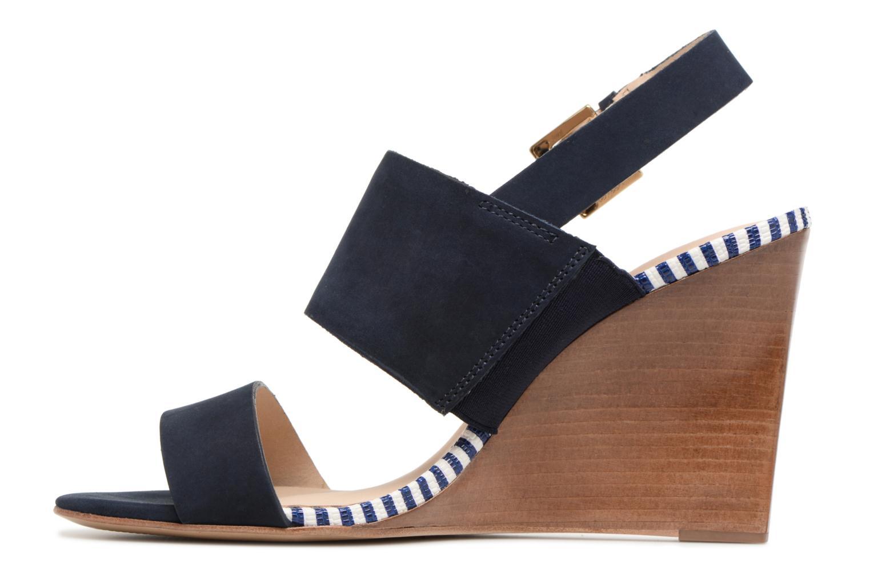 Sandales et nu-pieds COSMOPARIS Jaka/Nub Bleu vue face