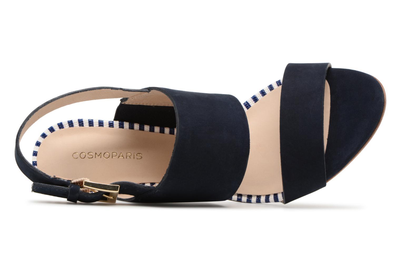 Sandales et nu-pieds COSMOPARIS Jaka/Nub Bleu vue gauche