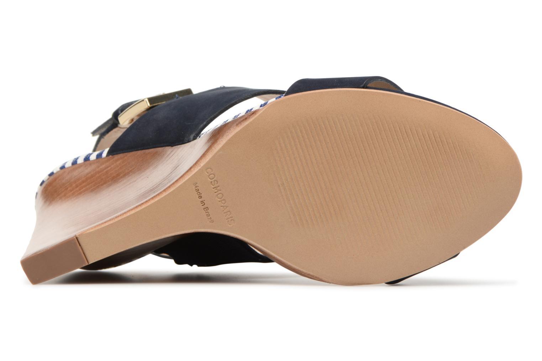 Sandales et nu-pieds COSMOPARIS Jaka/Nub Bleu vue haut