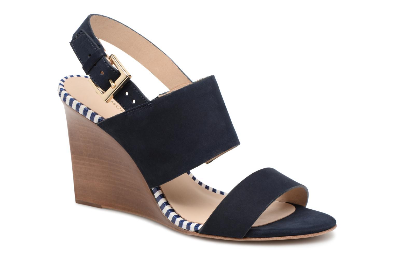 Zapatos de mujer baratos zapatos de mujer COSMOPARIS Jaka/Nub (Azul) - Sandalias en Más cómodo