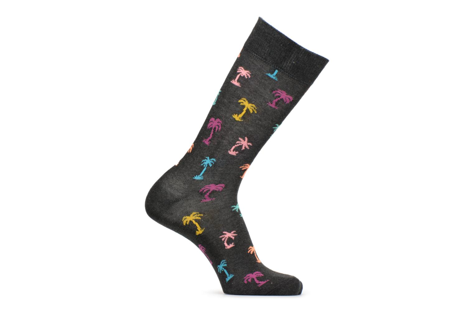 Socks & tights Happy Socks Chaussettes Palm beach Black detailed view/ Pair view