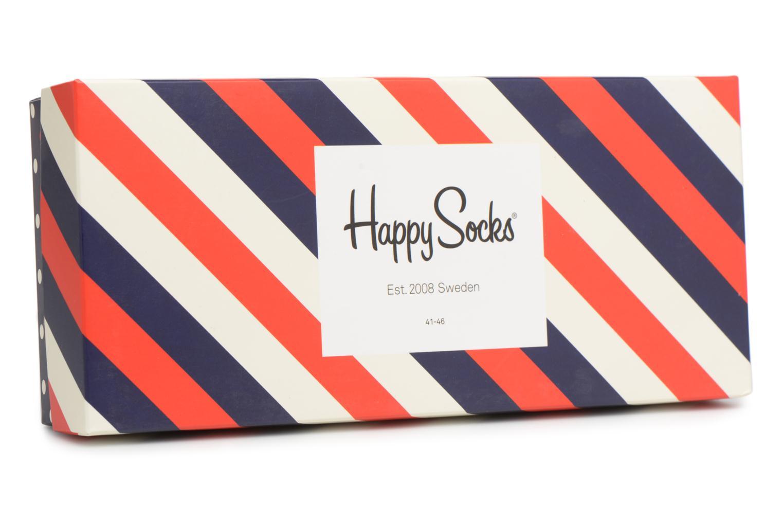 Socken & Strumpfhosen Happy Socks Chaussettes Classic Gift box blau schuhe getragen