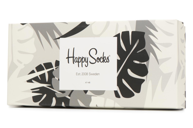 Socken & Strumpfhosen Happy Socks Chaussettes Classic Gift box schwarz schuhe getragen