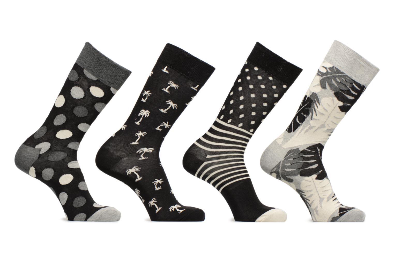 Socken & Strumpfhosen Happy Socks Chaussettes Classic Gift box schwarz detaillierte ansicht/modell