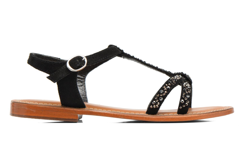 Sandales et nu-pieds L'Atelier Tropézien Mimy Noir vue derrière