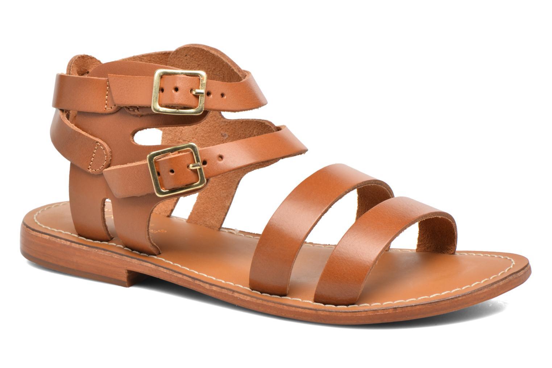 Sandali e scarpe aperte L'Atelier Tropézien Liz Marrone vedi dettaglio/paio