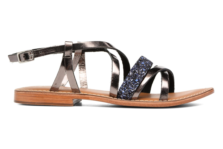Sandales et nu-pieds L'Atelier Tropézien Juju Noir vue derrière