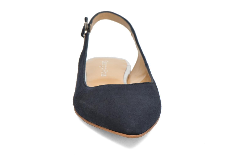 Ballerines Georgia Rose Sanbac Bleu vue portées chaussures