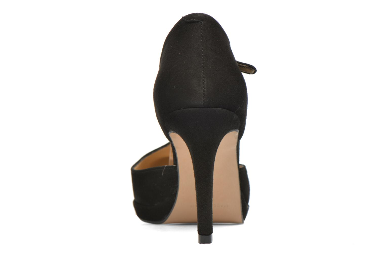 Zapatos de tacón Georgia Rose Sialto salomé Negro vista lateral derecha