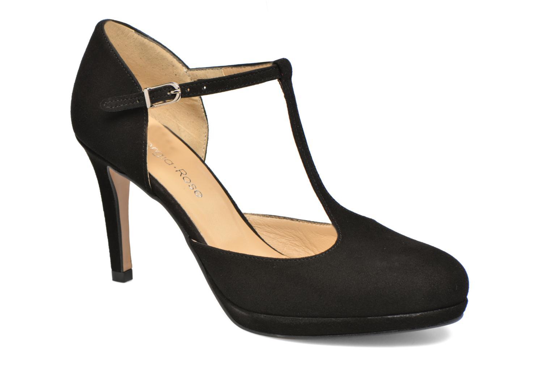 Høje hæle Georgia Rose Sialto salomé Sort detaljeret billede af skoene