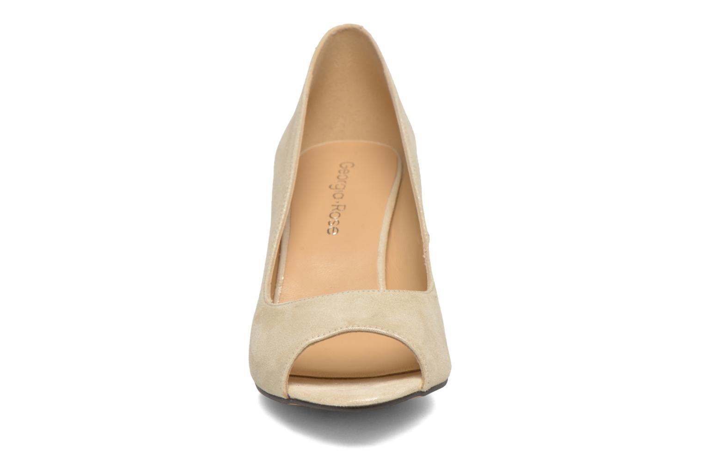Escarpins Georgia Rose Sotoe Beige vue portées chaussures