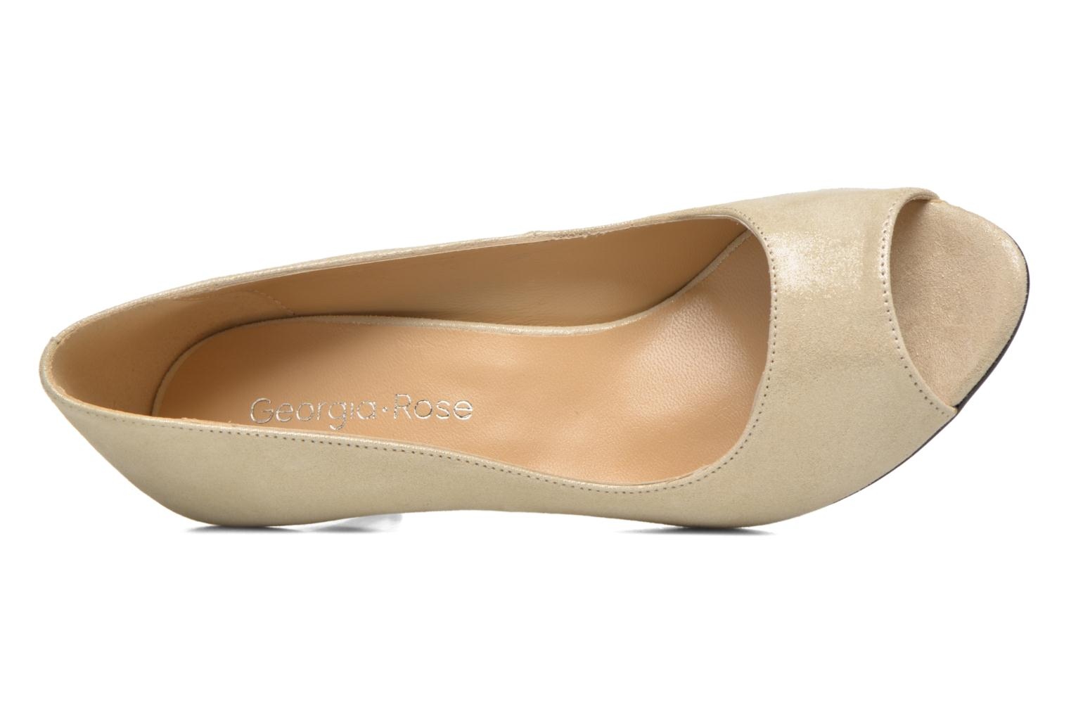 High heels Georgia Rose Sotoe Beige view from the left