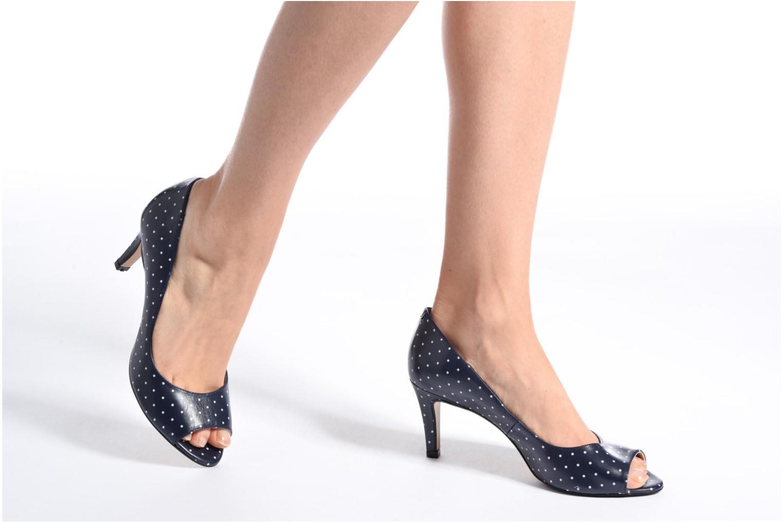 Zapatos de tacón Georgia Rose Sotoe Azul vista de abajo