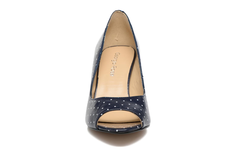 Escarpins Georgia Rose Sotoe Bleu vue portées chaussures