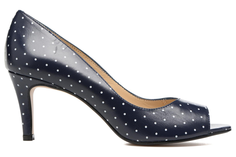 Zapatos de tacón Georgia Rose Sotoe Azul vistra trasera