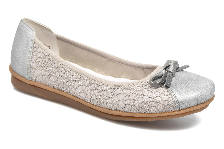 Grandes descuentos últimos zapatos Rieker Kees 43952 (Gris) - Bailarinas Descuento