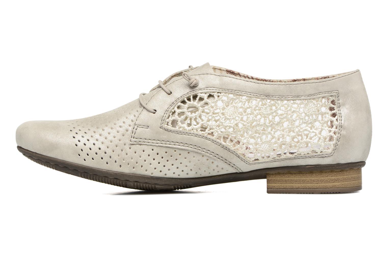 Chaussures à lacets Rieker Ruben 51928 Blanc vue face