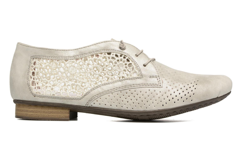 Chaussures à lacets Rieker Ruben 51928 Blanc vue derrière