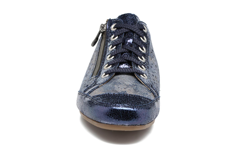 Sneaker Rieker Wim 57715 blau schuhe getragen