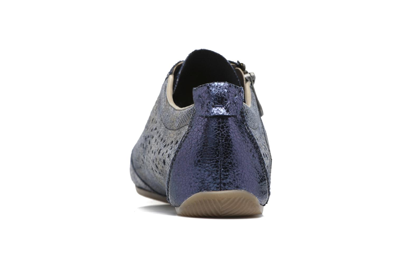 Sneakers Rieker Wim 57715 Azzurro immagine destra