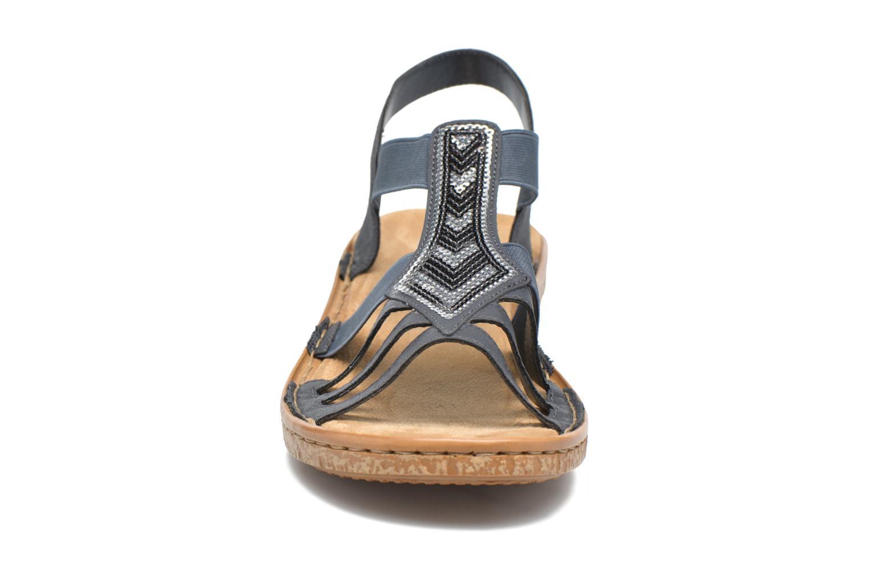Sandaler Rieker gonda 62821 Blå se skoene på
