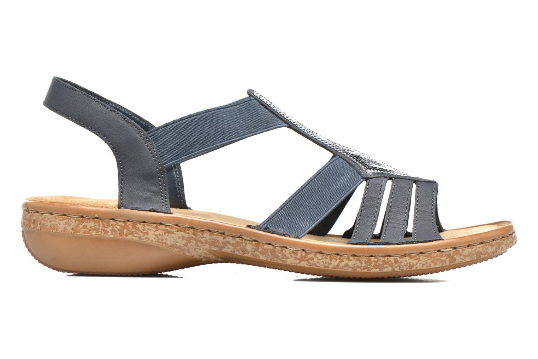 Sandaler Rieker gonda 62821 Blå se bagfra