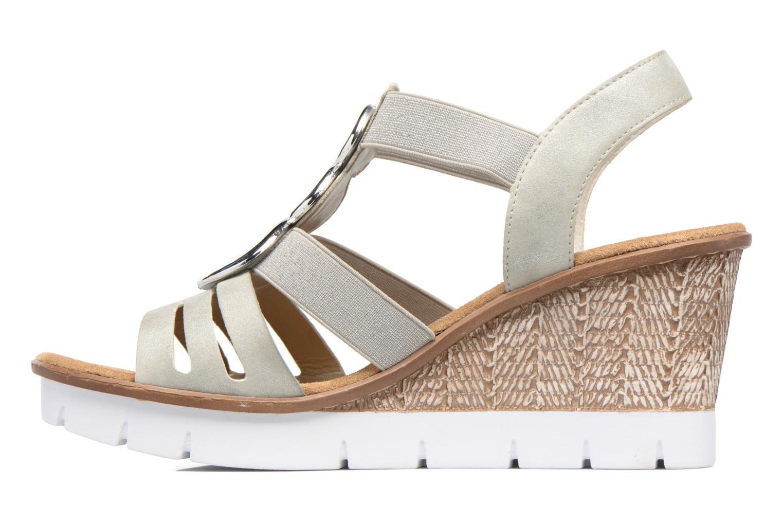 Zapatos promocionales Rieker Jikke 65540 (Gris) - Sandalias   Descuento de la marca