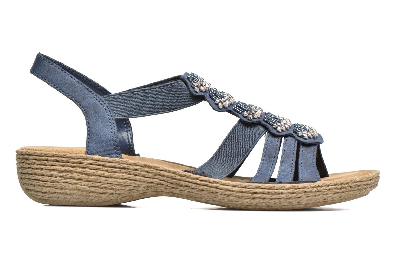 Sandales et nu-pieds Rieker Nora 65869 Bleu vue derrière