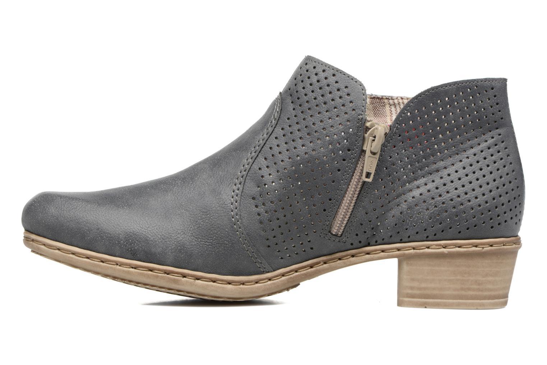 Bottines et boots Rieker Marla 0757 Bleu vue face