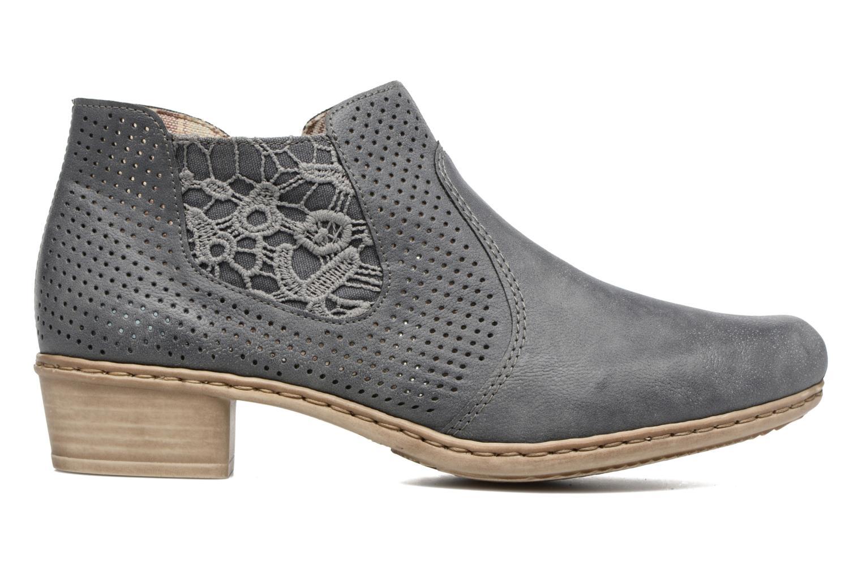 Bottines et boots Rieker Marla 0757 Bleu vue derrière