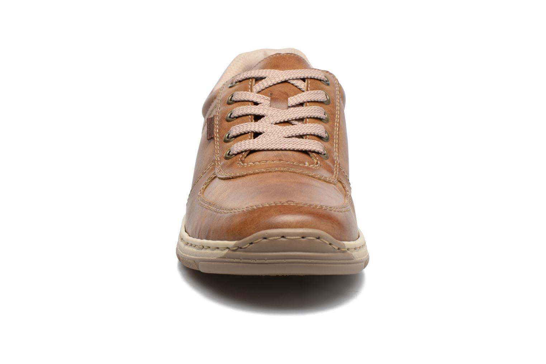 Baskets Rieker Joep 15224 Marron vue portées chaussures