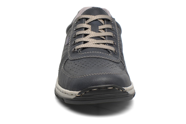 Baskets Rieker Joep 15225 Bleu vue portées chaussures