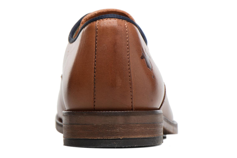 Chaussures à lacets Kost Blaise Marron vue droite