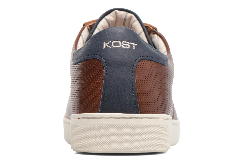 Baskets Kost Telki Bleu vue droite