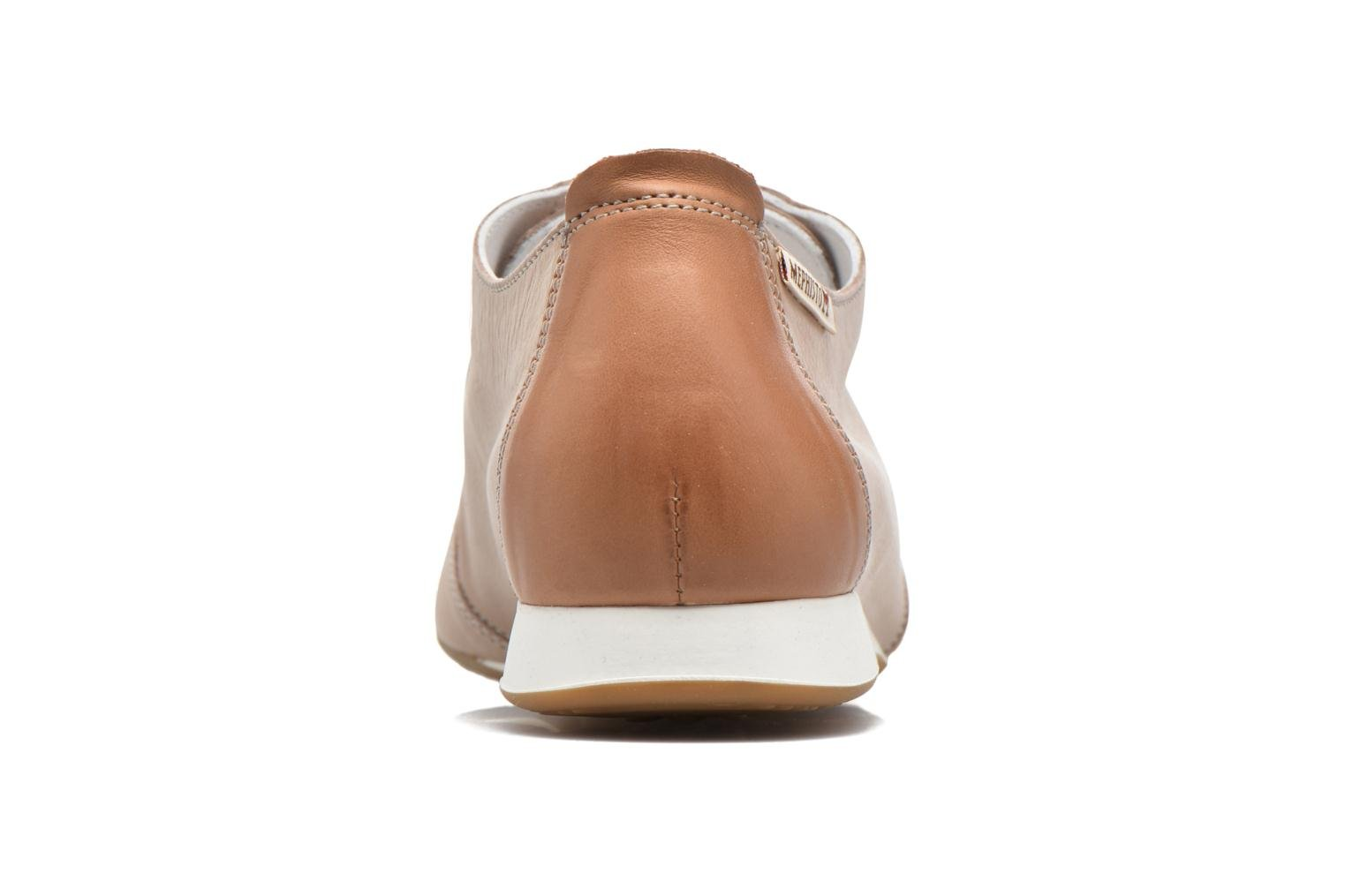 Chaussures à lacets Mephisto Becky Beige vue droite