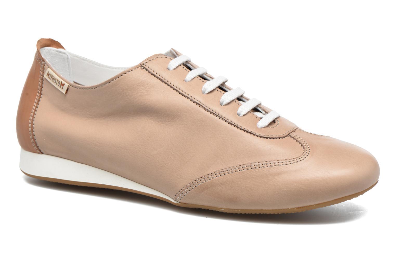 Chaussures à lacets Mephisto Becky Beige vue détail/paire