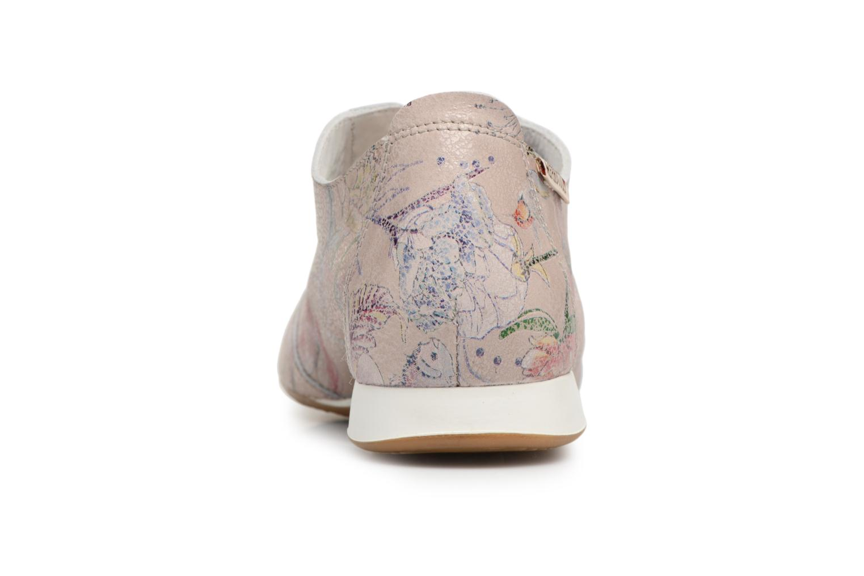 Chaussures à lacets Mephisto Becky Multicolore vue droite