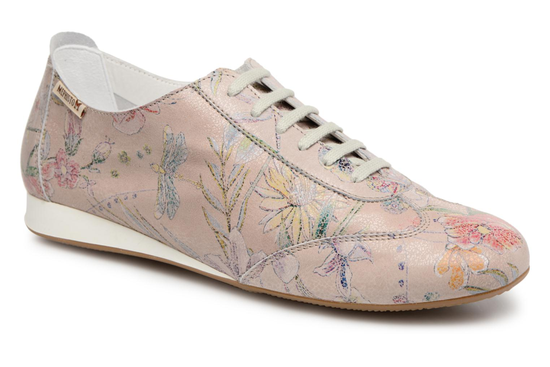Chaussures à lacets Mephisto Becky Multicolore vue détail/paire
