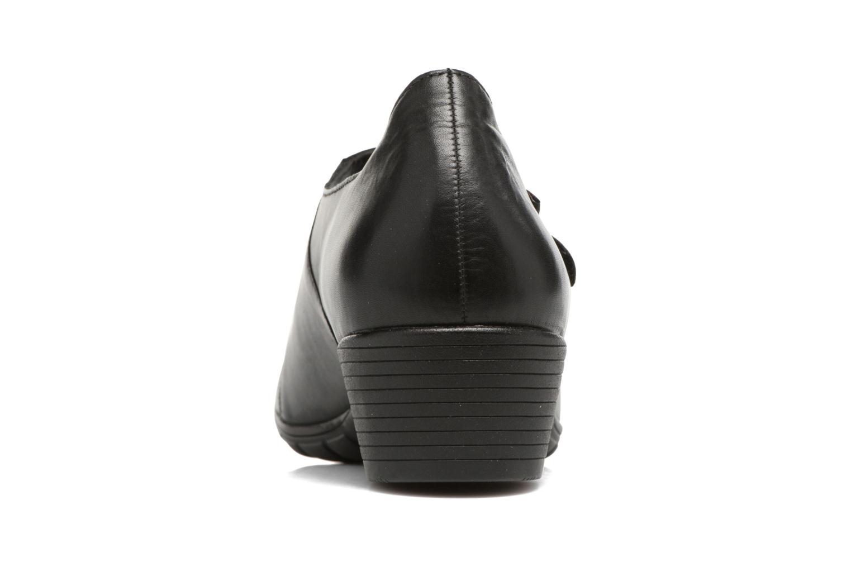 Zapatos de tacón Mephisto Ielena Negro vista lateral derecha