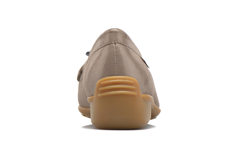 Loafers Mephisto Naomi Beige Se fra højre