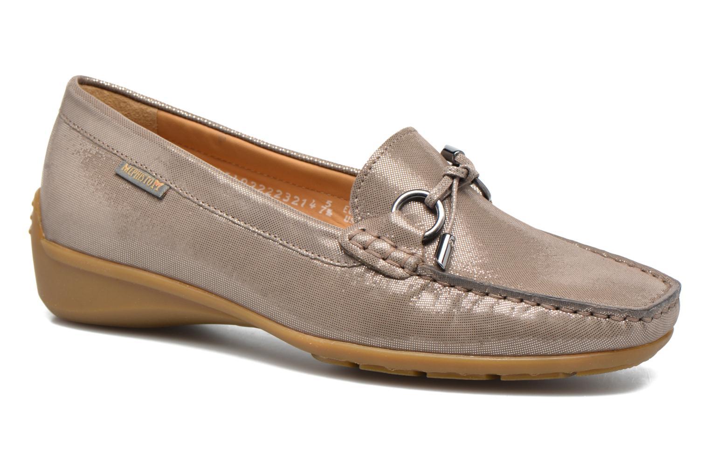 Loafers Mephisto Naomi Beige detaljeret billede af skoene