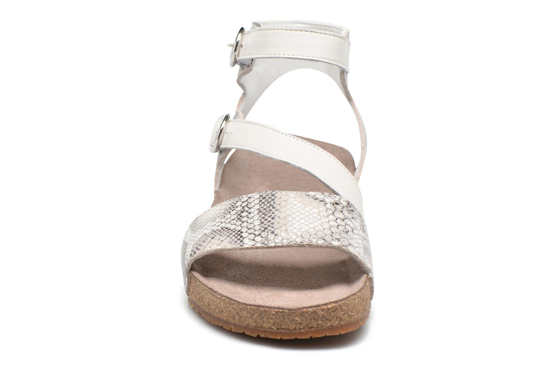 Sandales et nu-pieds Mephisto Indra Beige vue portées chaussures