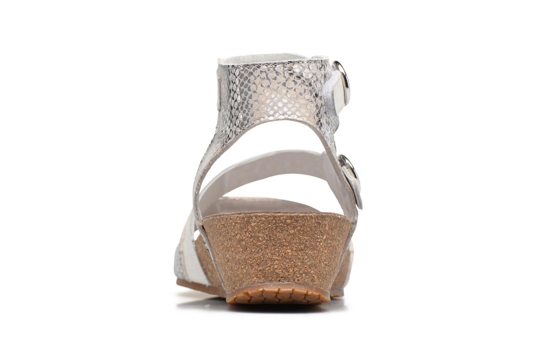 Sandales et nu-pieds Mephisto Indra Beige vue droite