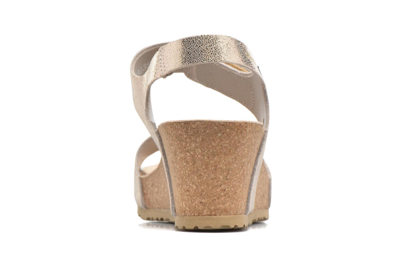 Sandales et nu-pieds Mephisto Lottie Or et bronze vue droite
