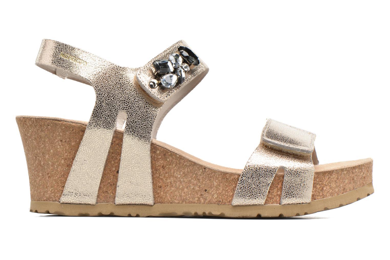 Sandales et nu-pieds Mephisto Lottie Or et bronze vue derrière