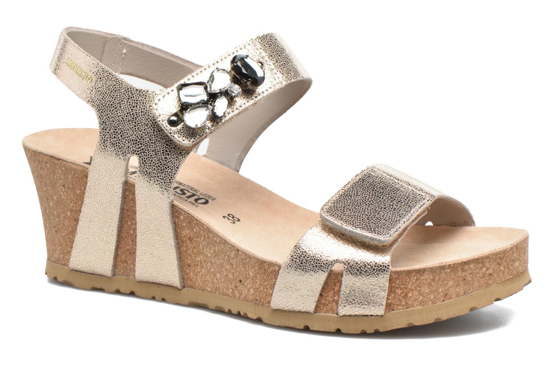 Sandales et nu-pieds Mephisto Lottie Or et bronze vue détail/paire