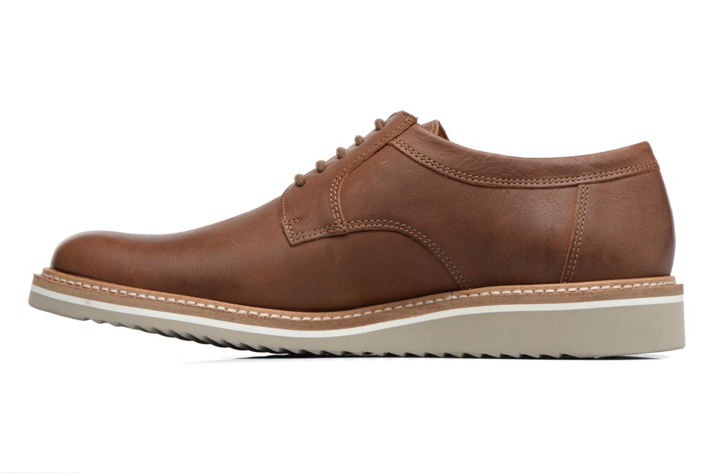 Chaussures à lacets Mephisto Enzo Marron vue face